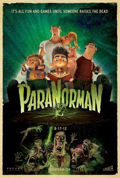 Paranorman [2009] directed by Chris Butler and Sam Fell, featuring the voices of Kodi Smit-McPhee, Anna Kendrick, Casey Affleck, Christopher Mintz-Plasse, Leslie Mann, Jeff Garlin, and John Goodman.