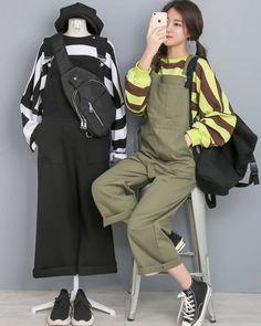 Korean Outfit Street Styles, Korean Street Fashion, Korea Fashion, Korean Outfits, Asian Fashion, Girl Fashion, Kpop Fashion Outfits, Ulzzang Fashion, Edgy Outfits