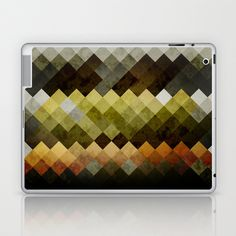 Abstract Cubes YBO iPad Skin by RobozCapoz - $25.00