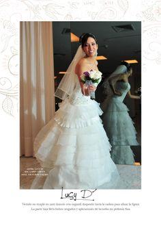 Vestido: www.atelierlucydiaz.com Foto: www.larryfarfan.com Novia: MILAGROS CASTILLO