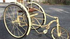 First taste of freedom: Toledo Treadle Tricycle