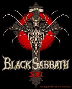 Black Sabbath ~ God is Dead by YannickBouchard