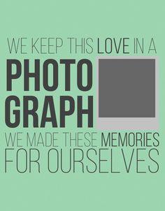 Photograph~Ed Sheeran