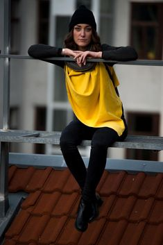 KUKLA sunny side up with one dark grey clip included Side, Cold Day, Are You Happy, Sunnies, You Got This, Yellow, Up, Collection, Vest