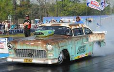 Outlaw Pro Mod Race Cars 55 chevy | Share