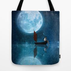 Buy The Moon and Me by Diogo Verissimo as a high quality Tote Bag. Worldwide shipping available at Society6.com. Just one of millions of products…