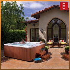 #Spa modeo Rhytim ideal para #terrazas en una #casa de #campo o ciudad.  Elegante #diseño con capacidad para cuatro #personas