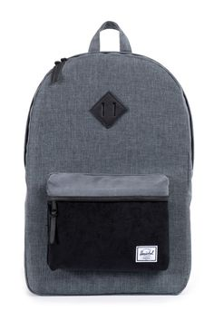 624be79d935 The Heritage has Herschel s signature look and feel and includes rubber  detailing. - Fully Lined With Our Signature Coated Poly Fabric - Up To 15