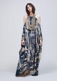 Moda Fashion, Hijab Fashion, Womens Fashion, Look Boho, Bohemian Style, Silk Kaftan, Maxi Robes, Looks Chic, African Fashion
