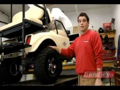Golf Cart Tutorial - #Tire Pressure - Customcarts.ca