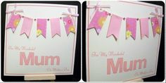 #handmade #mother'sday #card from www.Facebook.com/thehandmadestudio. #thehandmadestudio #mum #htlmp #fabulousfbpages