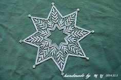 . Bobbin Lace Patterns, Xmas, Symbols, Letters, Angels, Handmade, Diy, Bobbin Lace, Ornaments