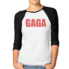 Lady Gaga Famous Singer Women's 3/4 Sleeve T-shirts T-shirts - Brought to you by Avarsha.com