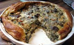 katin špajz: pita od patlidžana i belog pilećeg mesa