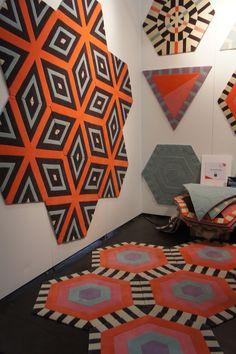 Novidade da ICFF (International Contemporary Furniture Fair). Veja mais: http://casadevalentina.com.br/blog/detalhes/post-1-sobre-a-icff--ny--2871 #details #interior #design #decoracao #detalhes #decor #home #casa #design #idea #ideia #charm #charme #casadevalentina #news #novidades #carpet #tapete