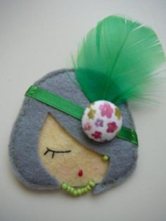 broche de fieltro