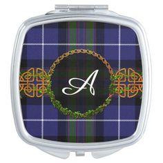 Highland Pride Of Scotland Monogram Mirror For Makeup