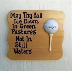 This made us laugh this morning, had to share it! :) #golflaughs