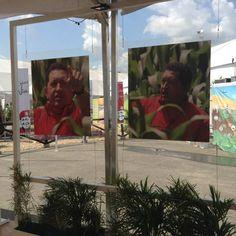 """""""Este planeta tiene miles de años, y vivió este planeta miles de millones de años sin nosotros, la especie humana, es decir, no le hacemos falta nosotros para que él exista. Ahora, nosotros sin la tierra no vivimos, y estamos destrozando la Pachamama."""" Hugo Chávez."""