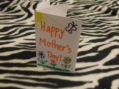 Two Quick and Easy Mother's Day Cards for Kids