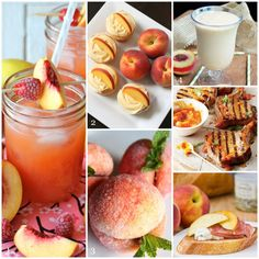 August Is National Peach Month - why not try a peach-inspired recipe? | Life Is Sweet as a Peach