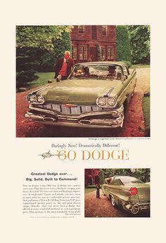 VINTAGE CAR Ad - Retro Car Ad - MERCURY Classic Car Ad Mid-Century Poster Garage…
