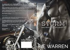 Storm (Bad Boys of X-Ops, #3) by Rie Warren✦ #BlogTour✦ #Excerpt✦ #BadassBikerAlert ✦ #Giveaway ($25.00 Amazon Gift Card)✦ All books in series for 99¢ ! ✦ - iScream Books