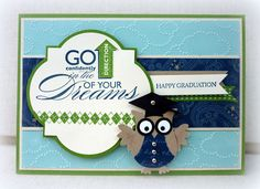 White House Stamping: Graduating Owl...