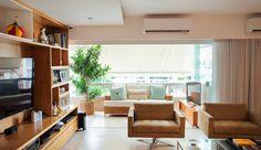 sala de estar - estante - marcenaria - living room - design de interiores - Saporito Engenharia - Studio 021 Arquitetura
