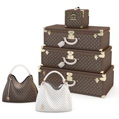 0aa92bd76fc Louis Vuitton set bag 3D Model .max .c4d .obj .3ds .fbx .lwo .stl  3DExport.com  by tai11