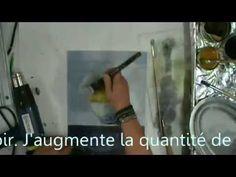 Peinture à l'encaustique, une vidéo de Couleurs et Co