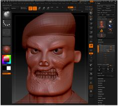 Zombie Soldier 3d character design Part01