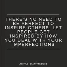 Nobody is Perfect!