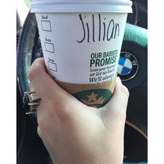 """My first #psl of the season definitely put a fall spring in my step #coffeetime #coffeelover #coffeeaddict #a_classic_touch #starbucks #cocktailring"" Photo taken by @a_classic_touch on Instagram, pinned via the InstaPin iOS App! http://www.instapinapp.com (09/07/2015)"