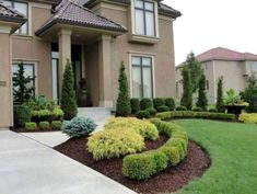 Boxwood Landscaping, Residential Landscaping, Small Front Yard Landscaping, Front Yard Design, Landscaping With Rocks, Backyard Landscaping, Landscaping Design, Big Backyard, Luxury Landscaping