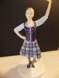 Royal Doulton Dances Of The World Scottish Highland Fling Limited Edition NIB   eBay $119