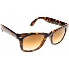 3d67afa51d9a8 Show details for Ray Ban Wayfarer Folding Classic 4105 710 51 - Brown  Tortoise Cool