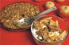 Oatmeal Crumble Apple Crisp