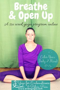 A six week yoga program for women with endometriosis & pelvic pain. Read more here: