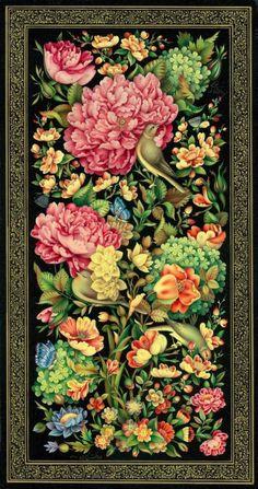 Christmas wreath from a straw wreath – Flowers Islamic Art Pattern, Pattern Art, Paisley Art, Illumination Art, Islamic Paintings, Persian Culture, Iranian Art, Guache, Mural Wall Art