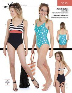 Jalie 3350 - One-Piece Swimsuit