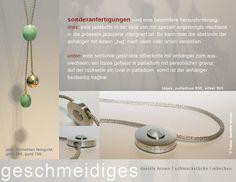 Newsletter Danièle Brown - Schmuckstücke München, Grafikdesign kerstensohlern.com