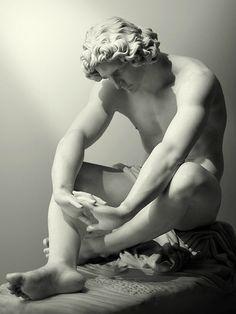 """""""Despair"""". Jean-Joseph Perrault. 1868."""