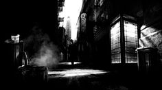 Film Noir Lighting | ... lighting, shadows and black and white cinematography to set up the