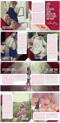 The RED Booklet ////   red_003 http://blog.st8mnt.com/designing-red-for-taylor-swift/#