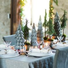 Terrain Tiny Trees for a Forest Centerpiece #shopterrain