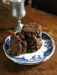double chocolate coconut cookies  une gamine dans la cuisine