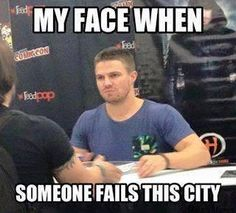 Stephen Amell / Arrow funny meme