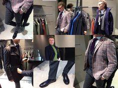 Ancora le studentesse del secondo anno di Fashion Styling con l'attore catanese Mario Opinato... Abiti forniti da Maccarrone - Catania.