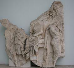At the Court of King Aleos PERGAMON MUSEUM The Telephos frieze